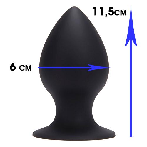 Plug My Ass Silicone Large - XL Buttplug