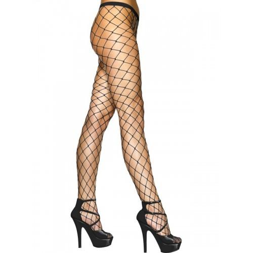 Spandex Diamond Net Pantyhose