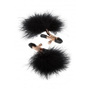 Feather Nipplettes - Bröstklämmor I Guld