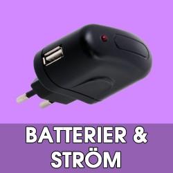 Batterier / Ström