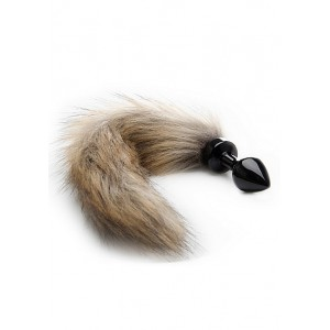 Ouch Fox Tail Buttplug - Svart