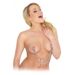 Rock Hard Nipple Clamps - Bröstsmycke