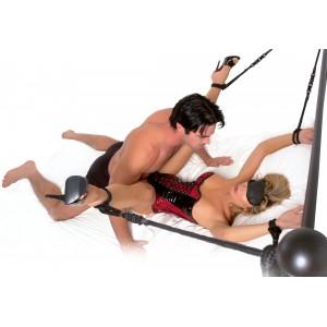 Rope Cuff & Tether Set - Bondageset