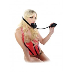 Inflatable Ball Gag - Reglerbar Gag