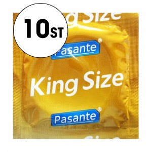 Pasante Kondom - King Size/Extra Stor - 10-Pack