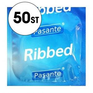 Pasante Kondom - Ribbed - 50-Pack