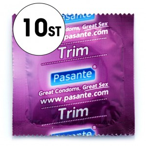 Pasante Kondom - Trim/Extra Liten - 10-Pack