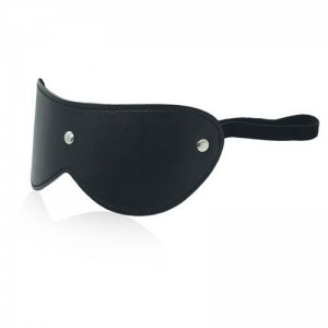 Blindfold Bondage Leather Mask