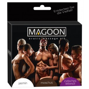 Magoon Massageolja Value Pack - 3 x 50 ml