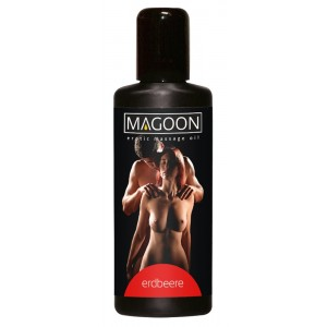 Magoon Strawberry Massageolja - 50 ml
