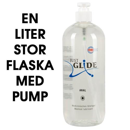Just Glide Anal - 1 liter naturellt glidmedel