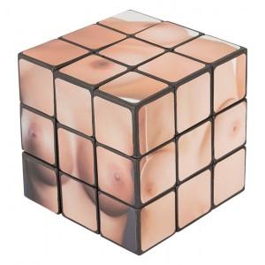 Boob Cube - Rubiks Kub Med Bröst