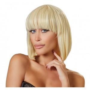 Wigged Love - Peruk Med Blont Halvlångt Hår