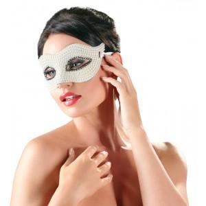 Seduction Mask White Stones - Exklusiv Ögonmask