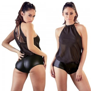 See-Thru Chiffon Body With Panty - XL