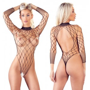 Mandy Mystery Square Fishnet Body
