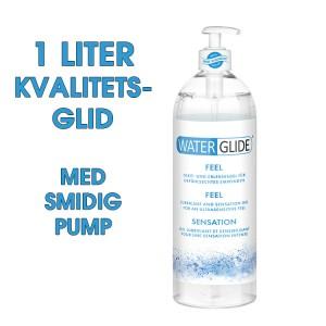 WaterGlide Naturell - 1 Liter! - Jätteflaska