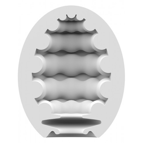 Satisfyer Masturbator Egg - Riffle