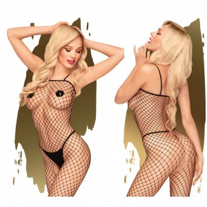 Penthouse - Body Search Catsuit Svart - S-L