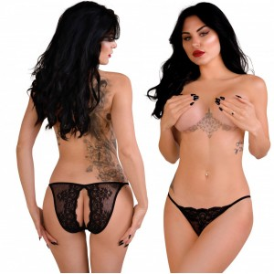 Natalia Crotchless Cheekini - L/XL