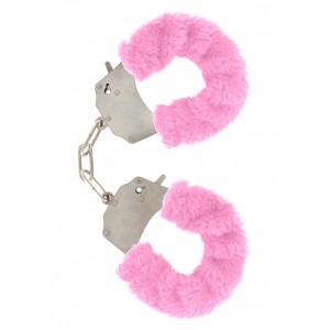 Soft Hand Cuffs - Rosa Mjuka Handbojor