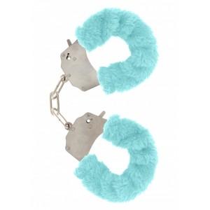 Soft Hand Cuffs - Blå Mjuka Handbojor