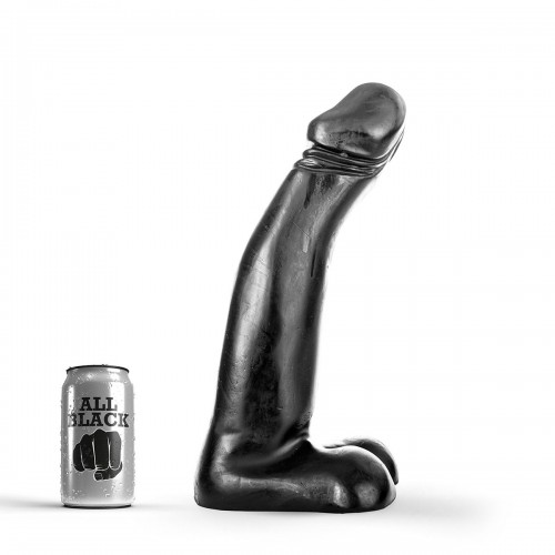 All Black - Huge Cock 34 cm XXL Dong