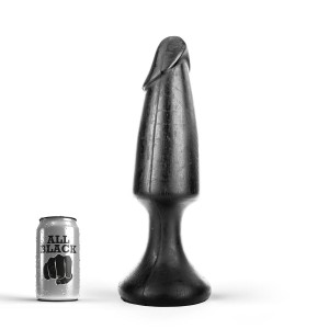 All Black - Mega Cock Buttplug 35 cm