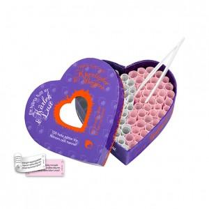 Ett Hjärta Fullt Av Kärlek & Lust - 100 Erotiska Utmaningar!
