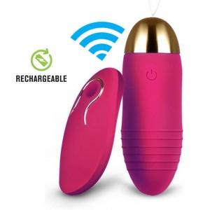 Remote Silicone Bullet Vibrator - Uppladdningsbar