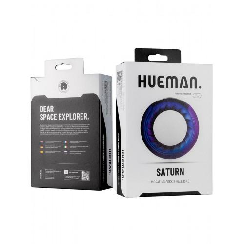 Hueman - Saturn Vibrating Cock & Ball Ring