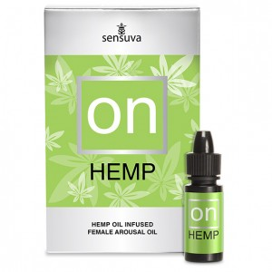 Sensuva ON Arousal Gel Hemp - Superkoncentrerad