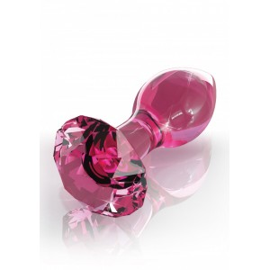 Icicles Nr.79 - Lyxig Handblåst Buttplug I Glas!