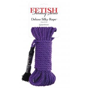 Deluxe Silky Rope - Bondage Rep 9,75 m - Lila