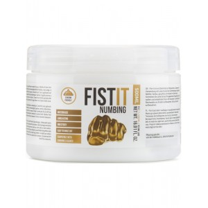 Fist It Numbing - 500ml Burk - Bedövande Vattenbaserat Glidmedel