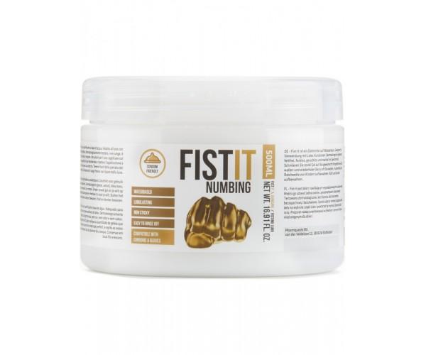 Fist It Numbing - 500ml Burk - Bedövande Vattenbaserat Glidmedel