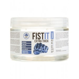 Fist It Extra Thick - 500ml Burk - Vattenbaserat Glidmedel