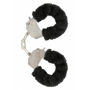 Soft Hand Cuffs - Svarta Mjuka Handbojor