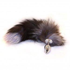 Intimate Anal Metal Jewelry - Furry Fox Tail