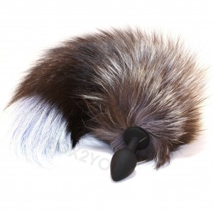 Intimate Jewelry Seamless Silicone - Furry Fox Tail