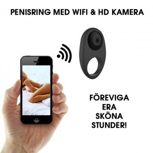 The Cock Cam - Penisring Med WiFi & HD Kamera!